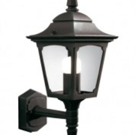 Бра Chapel Mini Up Wall Lantern Black  Chapel CPM1 BLACK