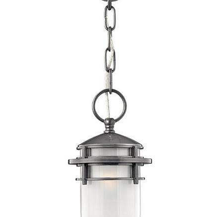 Светильник Reef 1Lt Chain Lantern Hematite Reef HK/REEF8 HE