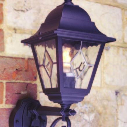 Бра Norfolk Up Wall Lantern  Norfolk NR1 BLK