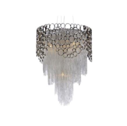 Светильник потолочный Crystal Lux HAUBERK SP - PL08 D60