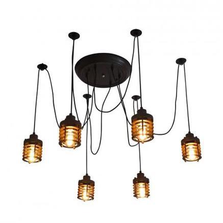 Светильник потолочный SPIRO CHANDELIER Gramercy Home CH068-6