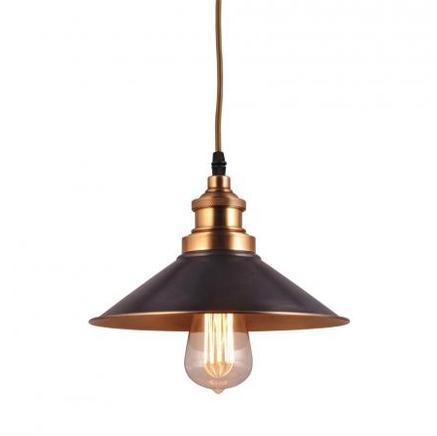 Светильник потолочный INDUSTRIAL REFLECTOR CHANDELIER Gramercy Home CH027-1-BRS