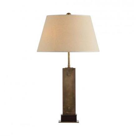 Настольная лампа OANES TABLE LAMP Gramercy Home TL055-1-BRS