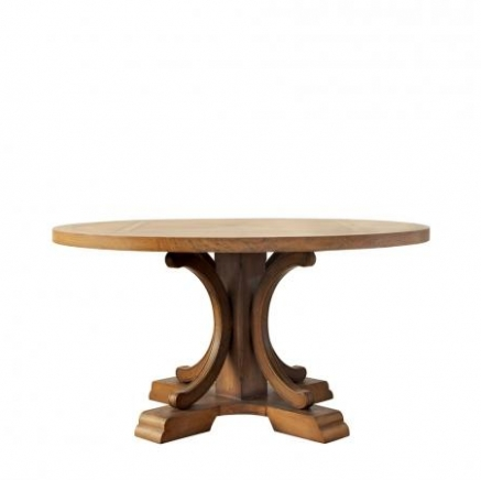 Стол ALFORD ROUND TABLE Gramercy Home 301.009-2N7