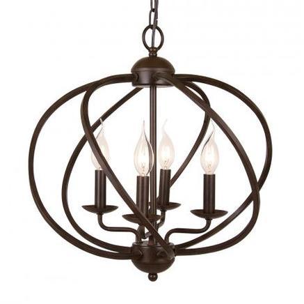 Светильник потолочный NORWOOD MEDIUM CHANDELIER Gramercy Home CH081-4