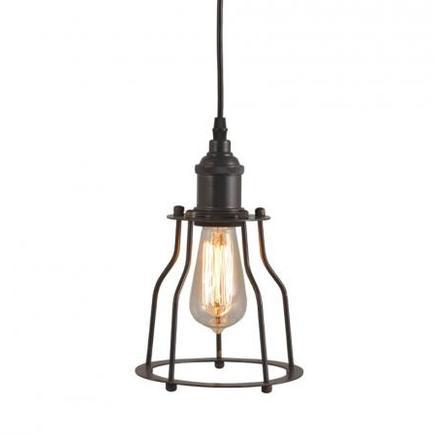 Светильник потолочный EDISON METAL FRAME CHANDELIER Gramercy Home CH022-1-ABG