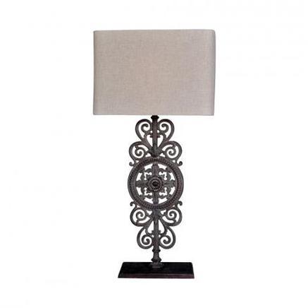 Настольная лампа VICTORIA TABLE LAMP Gramercy Home TL052-1-LGG