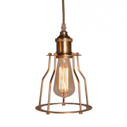 Светильник потолочный EDISON METAL FRAME CHANDELIER Gramercy Home CH022-1-BRS