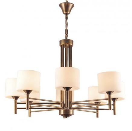 Светильник потолочный ZOEY CHANDELIER Gramercy Home CH075-8-BRS