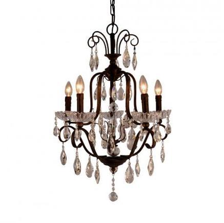 Светильник потолочный AURELIA CHANDELIER Gramercy Home CH056-5-DBG