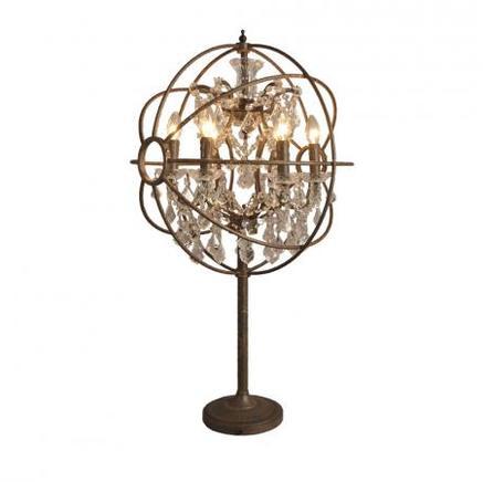 Настольная лампа IRON ORB TABLE LAMP Gramercy Home TL014-6-LRR