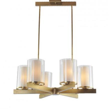 Светильник потолочный CANDLESTICK CHANDELIER Gramercy Home CH042-6-BRS