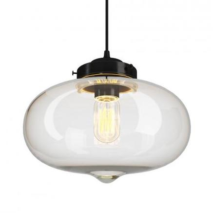 Светильник потолочный VIJAY GLASS CHANDELIER Gramercy Home CH089-1-ABG
