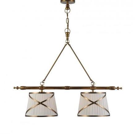 Светильник потолочный MARITIME DOUBLE CHANDELIER Gramercy Home CH043-2-BRS