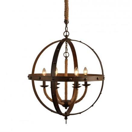 Светильник потолочный LANCELOT CHANDELIER Gramercy Home CH062-6-OGR