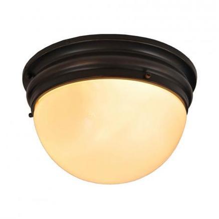 Светильник потолочный INDUSTRIAL SEMISPHERE FLUSH MOUNT Gramercy Home CH033-3-BBZ