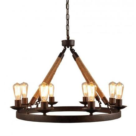 Светильник потолочный CASTLE CHANDELIER Gramercy Home CH048-8-LRR