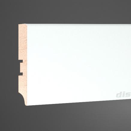 Плинтус МДФ белый SP-decor 080A клей в подарок