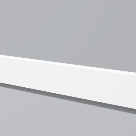 Плинтус напольный под покраску+ клей в подарок NMC Belgium FD 001