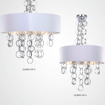 Светильник потолочный Crystal Lux OLIMPO SP04