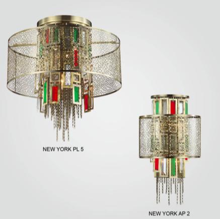 Светильник потолочный Crystal Lux NEW YORK SP012