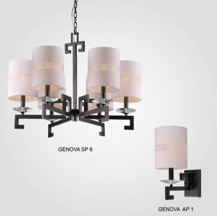 Светильник потолочный Crystal Lux GENOVA SP06