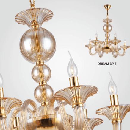 Светильник потолочный Crystal Lux DREAM SP06