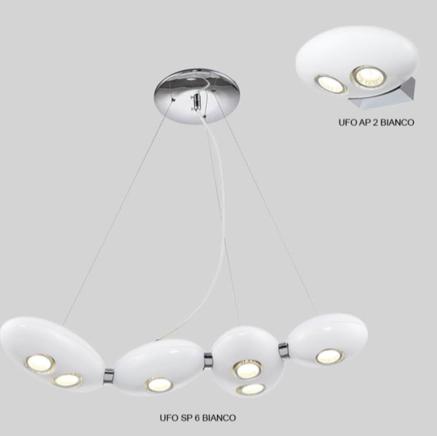 Светильник потолочный Crystal Lux UFO SP012 BIANCO