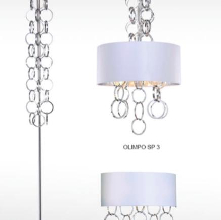 Торшер напольный Crystal Lux OLIMPO PT01