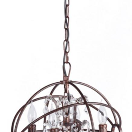 Люстра Foucault's Orb Crystal DG-Home Артикул: DG-LL0127