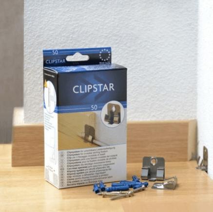 Клипсы универсальные CLIP SYSTEM Perfect Clipstar Perfect Teckwood (40 шт)