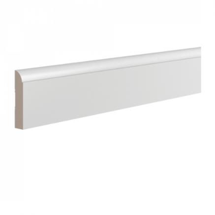 Плинтус широкий под покраску Ultrawood Base011 клей/покраска в подарок