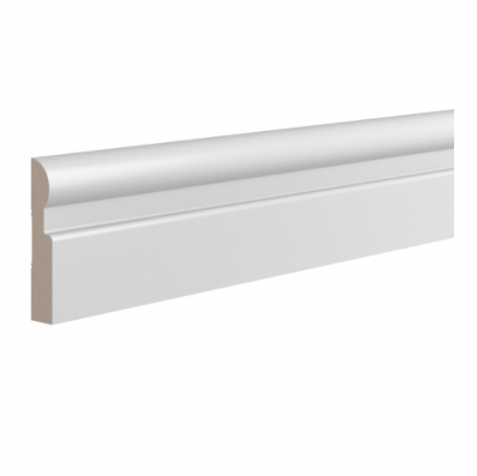 Плинтус широкий напольный  Ultrawood Base010 клей/покраска в подарок