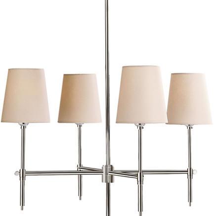 Светильник потолочный Bryant Small Visual Comfort & Co TOB5002PN-NP