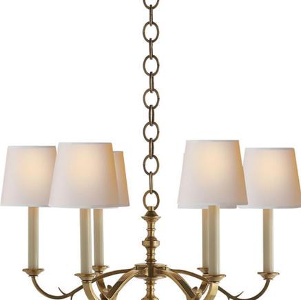 Светильник потолочный Channing Small Visual Comfort & Co TOB 5119HAB-NP