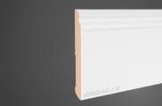 Плинтус МДФ высокий белый + клей в подарок Pedross 6203