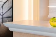 Потолочный карниз гладкий + клей в подарок Orac Axxent C 370