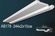 Карниз полиуретановый потолочный Perfect AB 178 клей в подарок