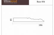 Плинтус высокий напольный Ultrawood Base 004 покраска по RAL в подарок