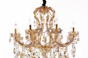 Светильник потолочный Crystal Lux Beauty SP08 ORO/CHAMPAGNE