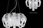 Светильник потолочный Crystal Lux HEAT SP08 CRYSTAL
