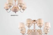 Светильник потолочный Crystal Lux ADAGIO PL08