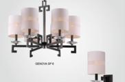 Светильник потолочный Crystal Lux GENOVA SP08