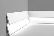Плинтус из дюрополимера с кабель-каналом Orac Axxent SX 179