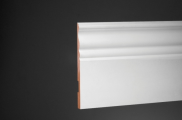 Плинтус высокий напольный Ultrawood Base 5074 клей/покраска в подарок