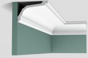 Потолочный карниз гладкий Orac Axxent C220 клей/покраска в подарок