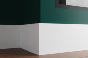 Плинтус высокий под покраску Ultrawood 4112