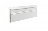 Плинтус высокий напольный Ultrawood Base004 клей/покраска в подарок