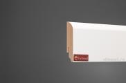 Плинтус МДФ белый + клей в подарок TeckWood 07016