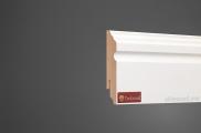 Плинтус МДФ белый TeckWood 08116 клей в подарок